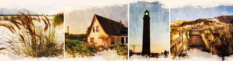 Hus Freetörn - Urlaub am Amrumer Leuchtturm